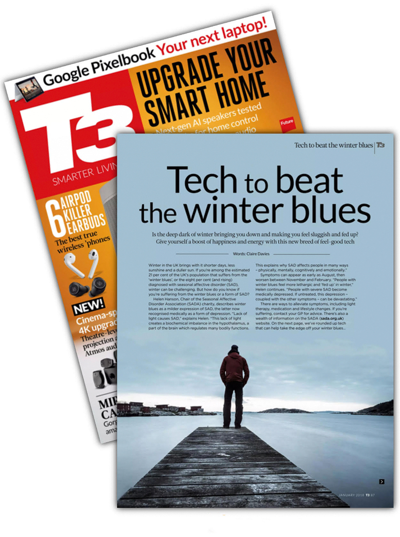 Tech to beat the winterblues. T3 / 2018-01. Foto: Mikael Svensson