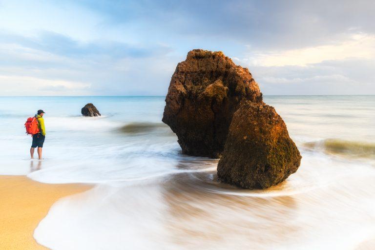Praia do Barranco das Canas, Algarve, Portugal.