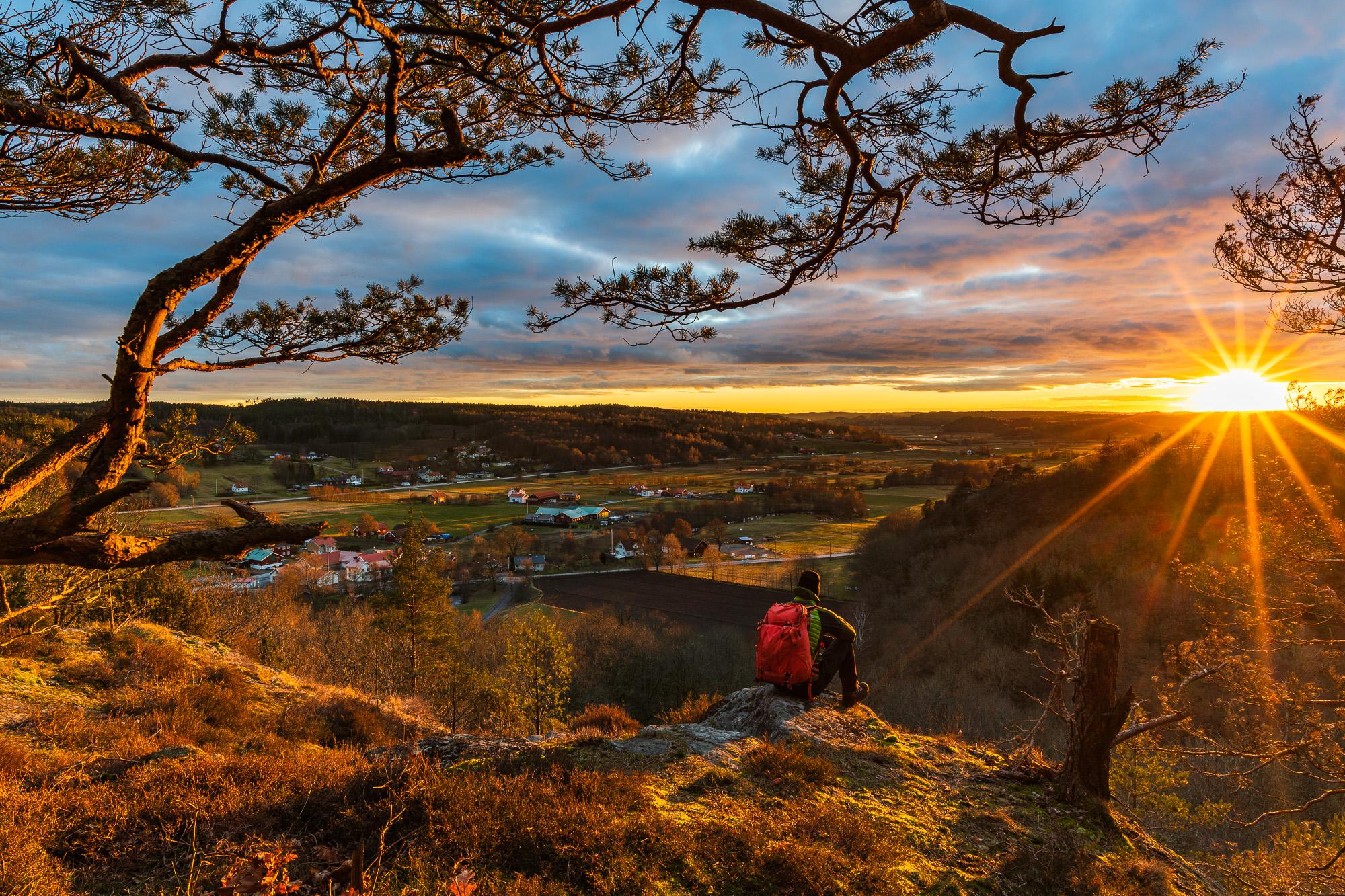 Utsikt från Börsåsberget, Mölndal. Foto: Mikael Svensson, www.mikaelsvensson.com