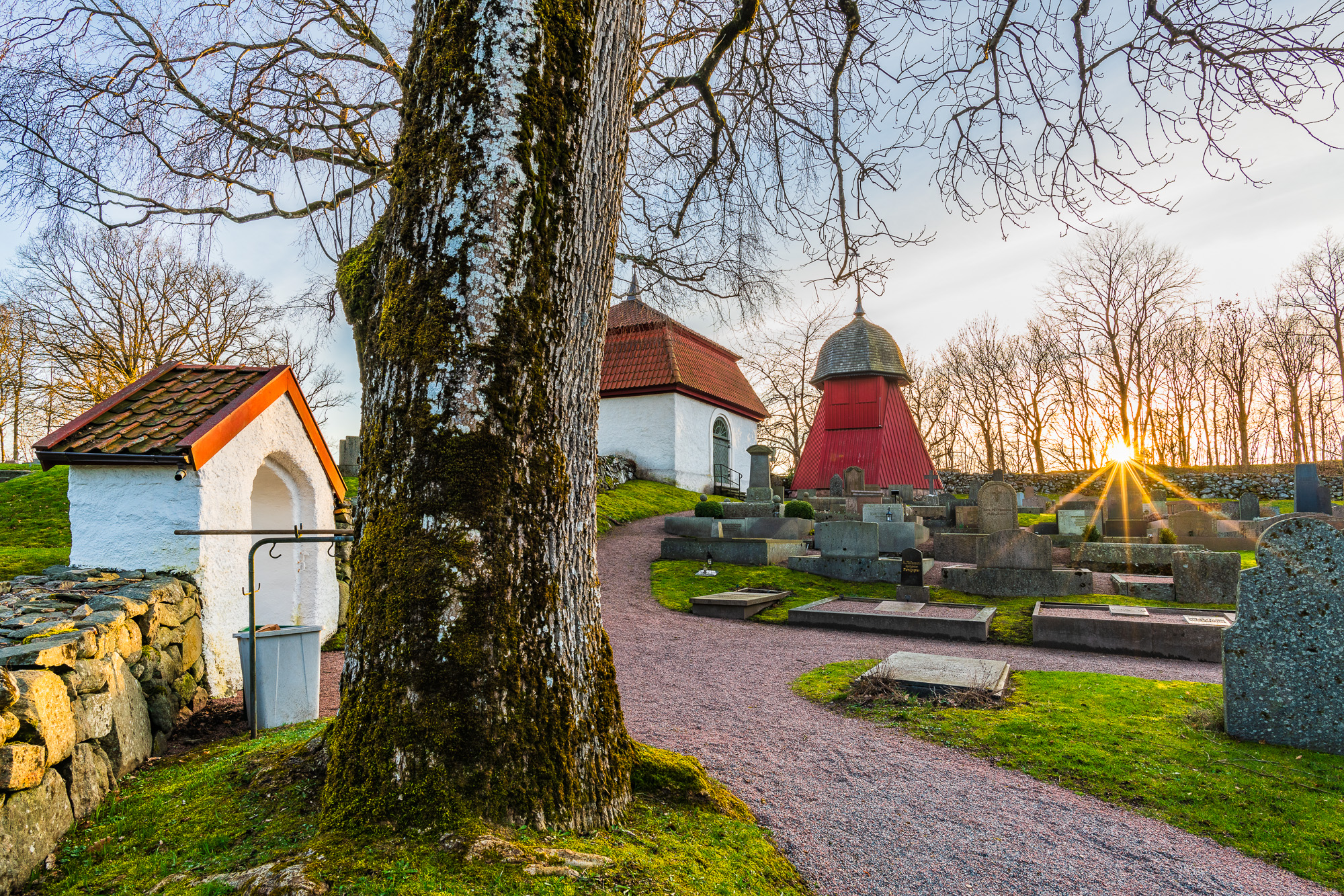 Kållereds kyrka, Mölndal. Foto: Mikael Svensson, www.mikaelsvensson.com