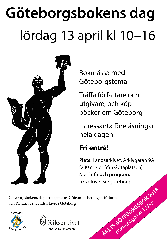 Vår bok om Delsjön är nominerad till årets Göteborgsbok 2018.