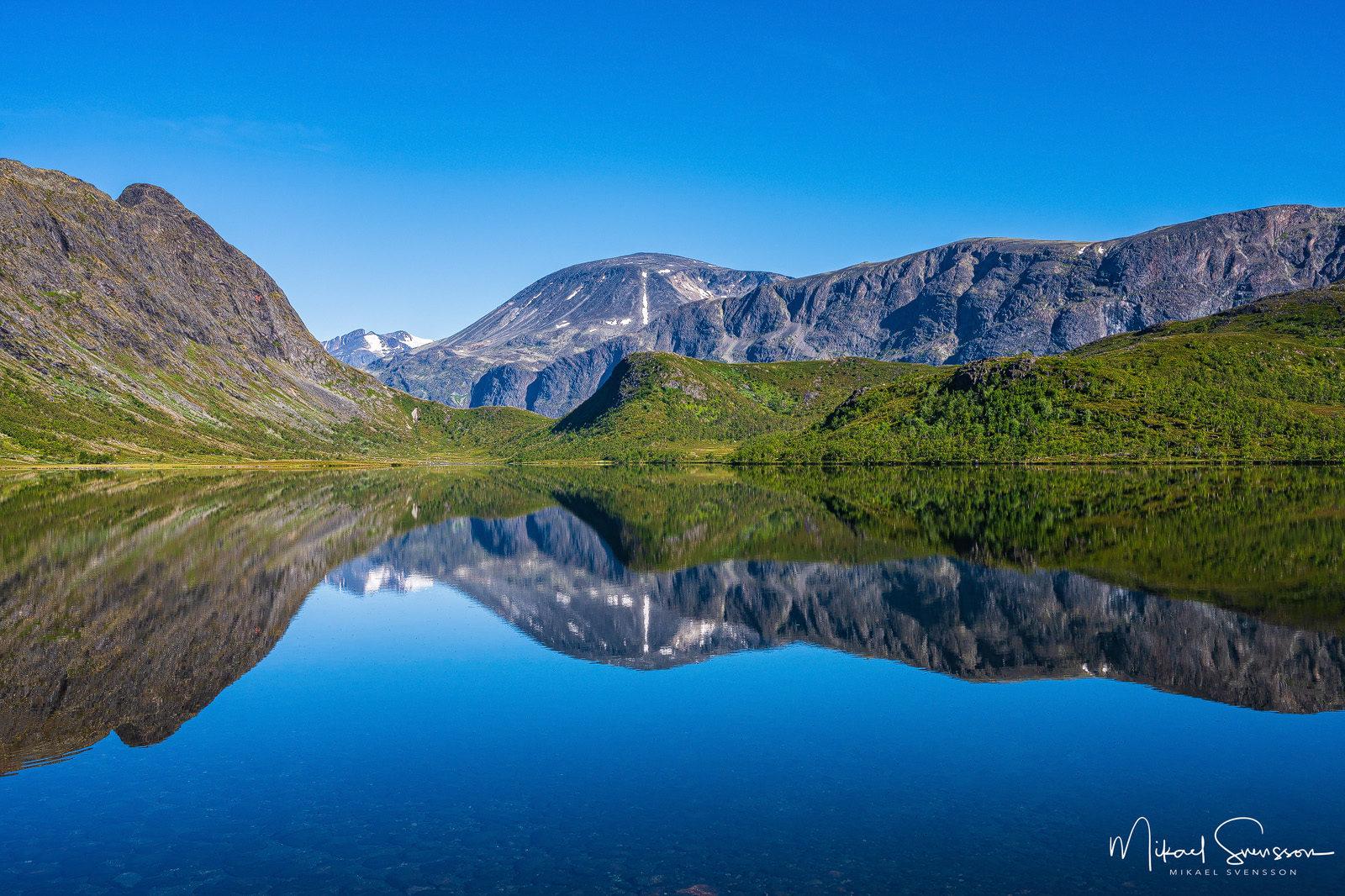 Nedre Leirungen, Jotunheimen, Norge. Foto: Mikael Svensson, www.mikaelsvensson.com