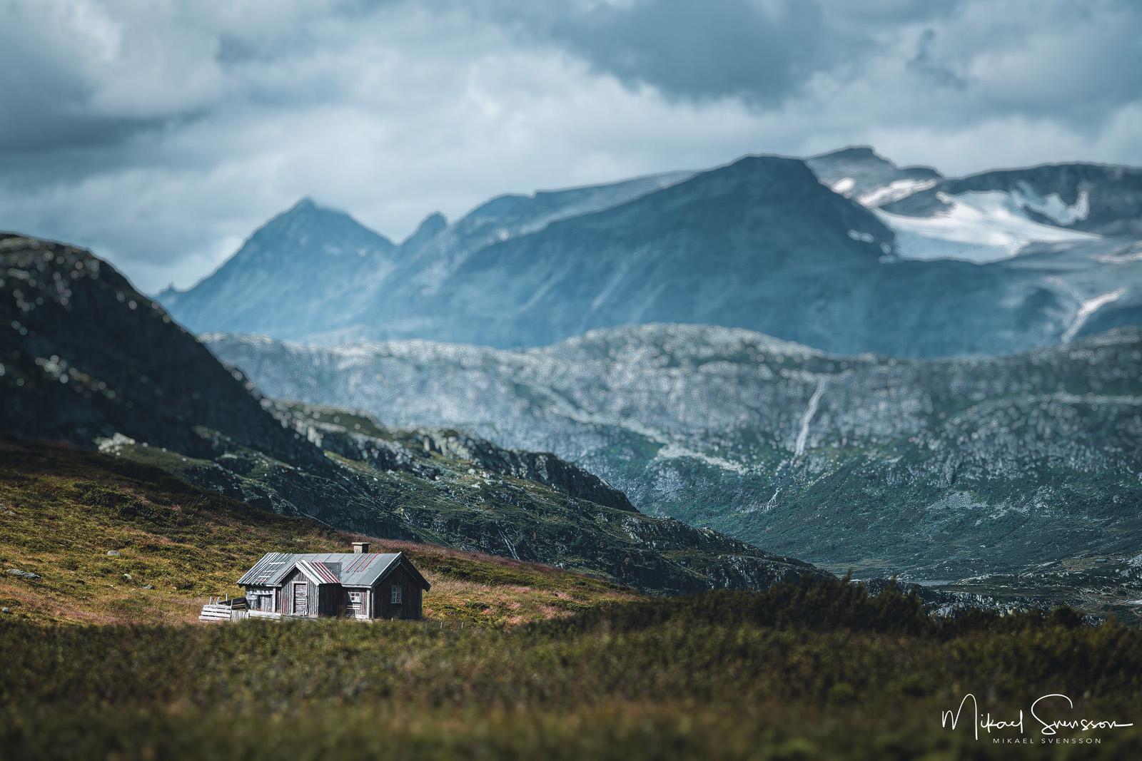 Slettefjell, Oppland fylke, Norway. Foto: Mikael Svensson , www.mikaelsvensson.com