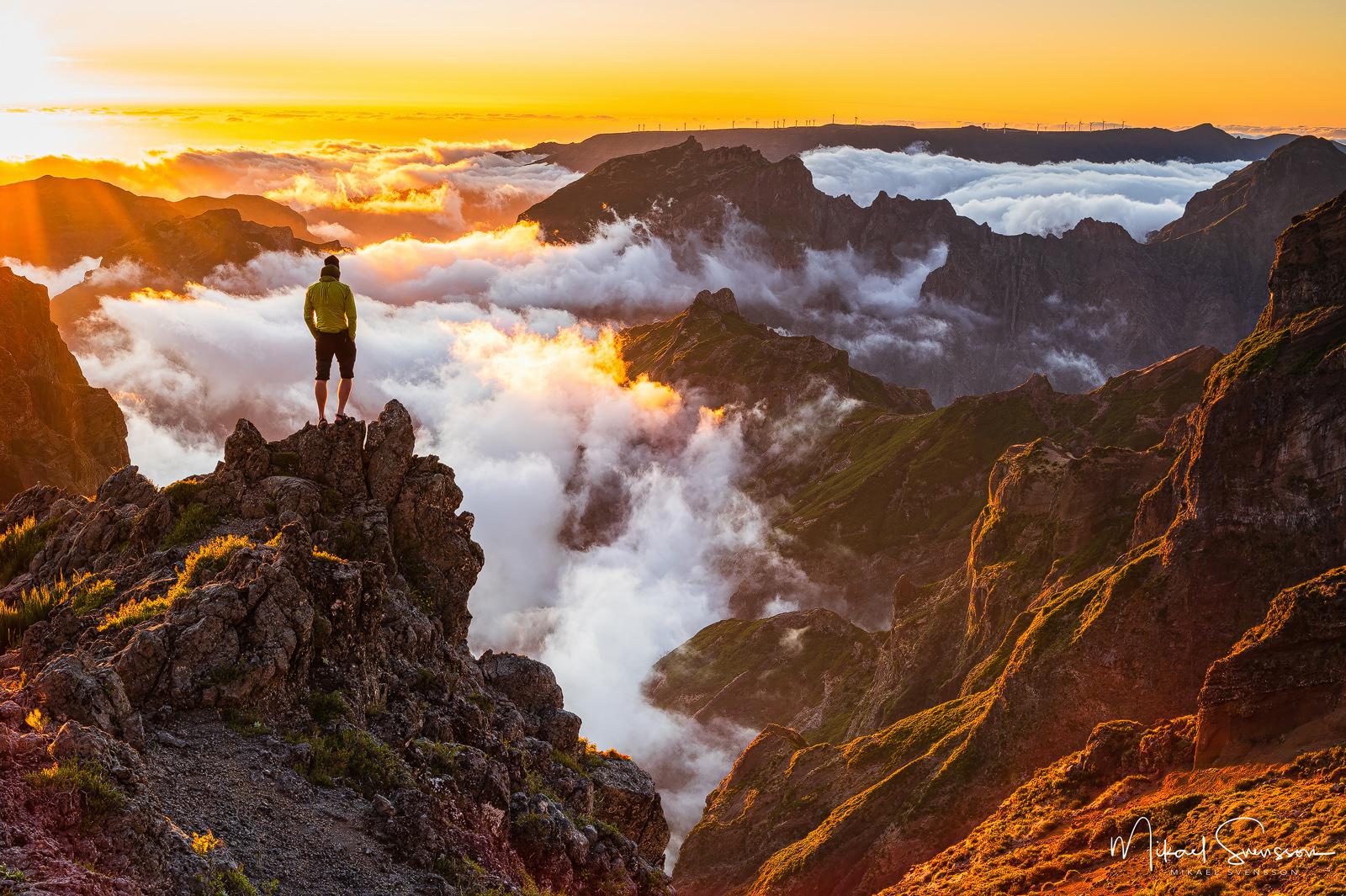 Pico do Arieiro, Madeira.