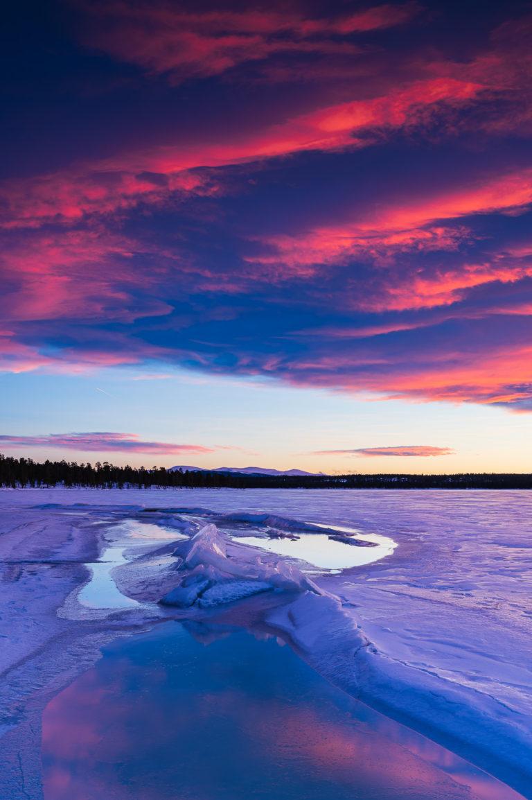 Femunden, Hedmark fylke, Norge.