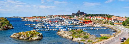 Panorama över Marstrand