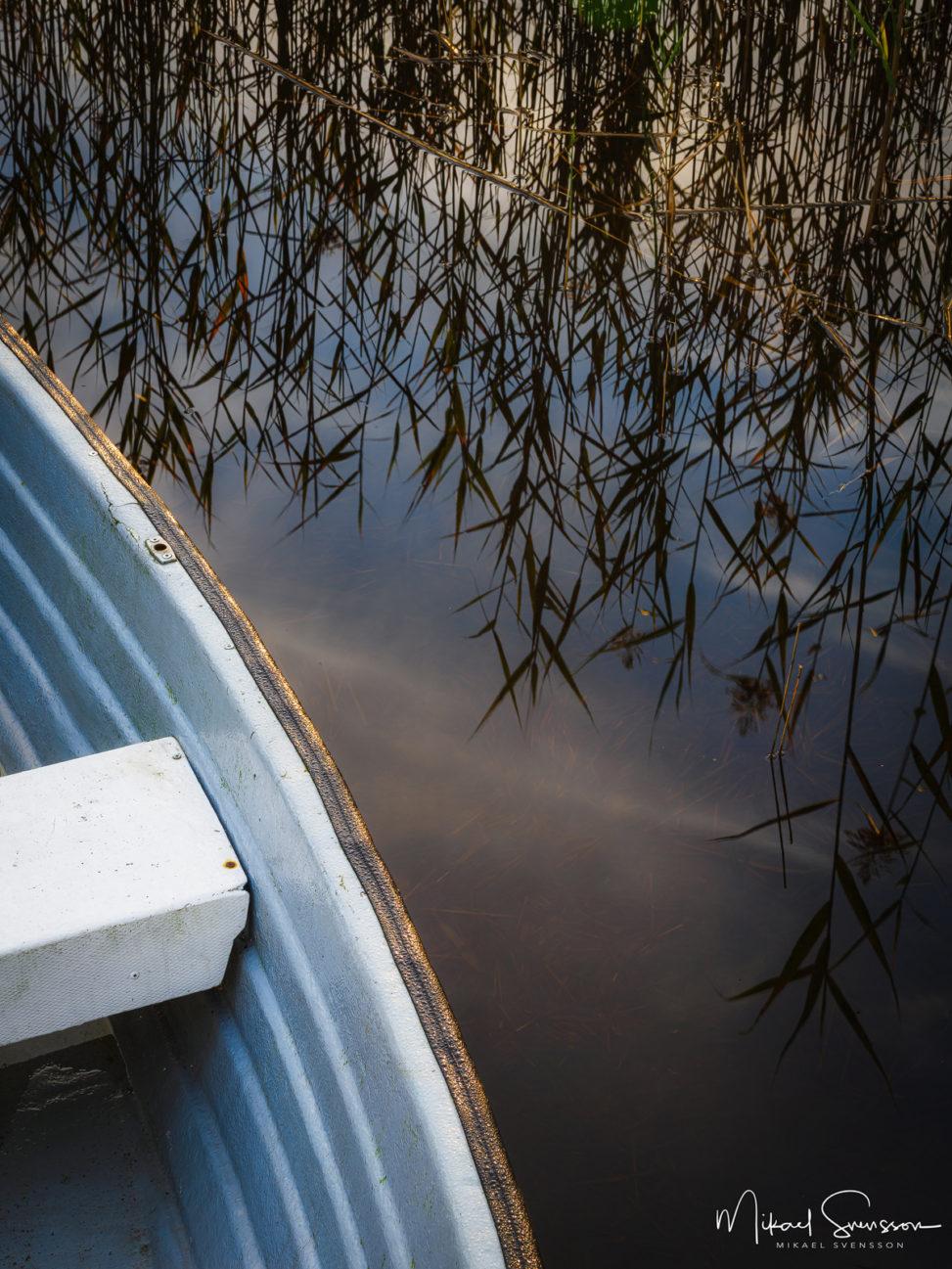 Båt vid Rådasjön, Mölndal.