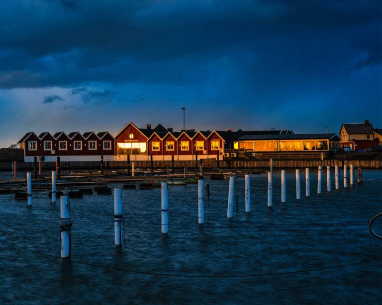 Joels brygga vid Träslövsläge, Varbergs kommun.