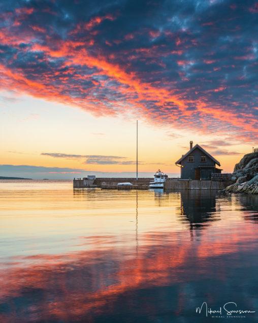 Solnedgång vid Särö
