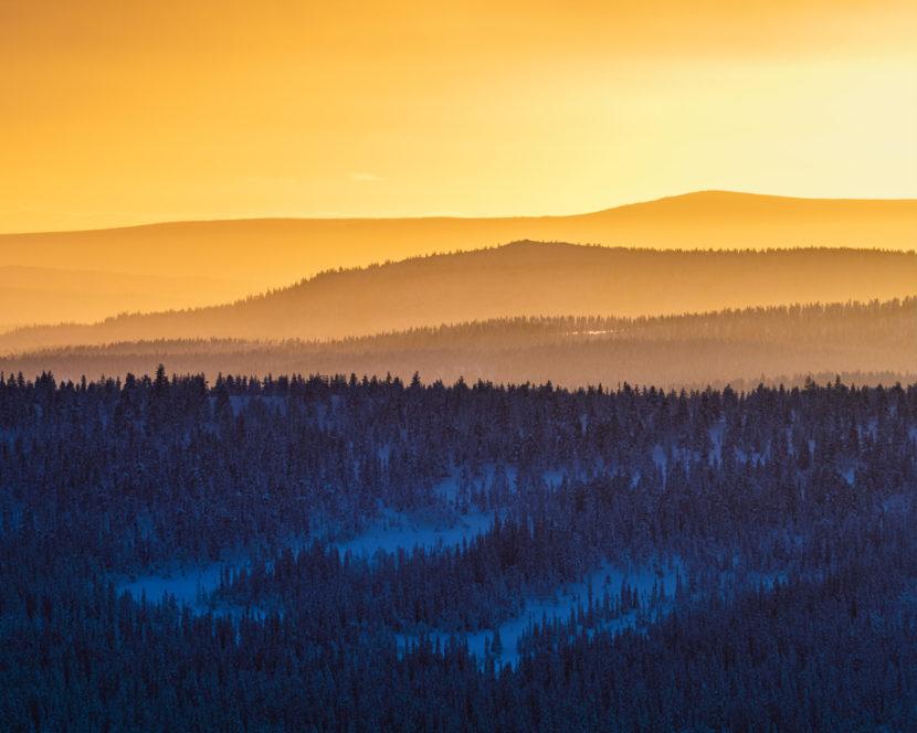 Grövelsjöfjällen, Dalarna.