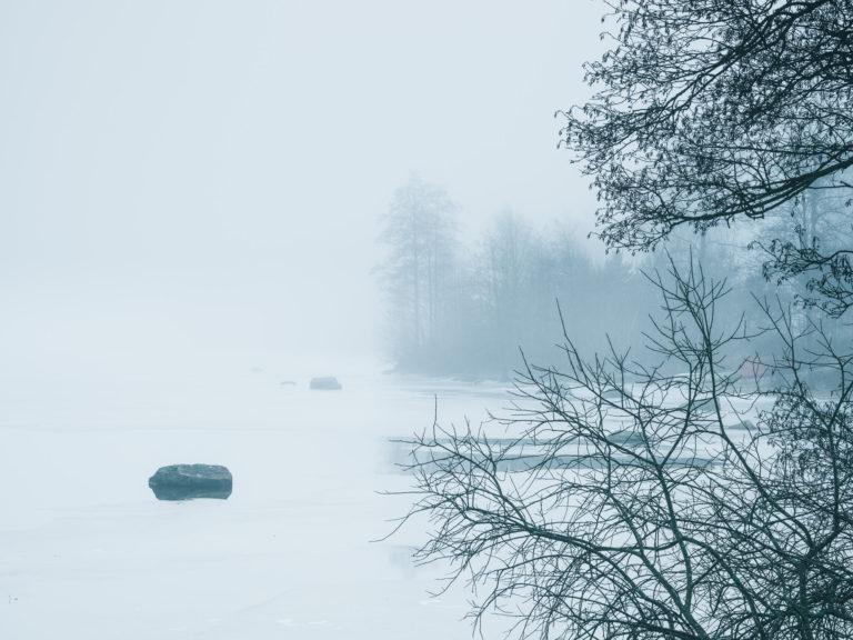 Dimma vid Västra Ingsjön, Mölndal.