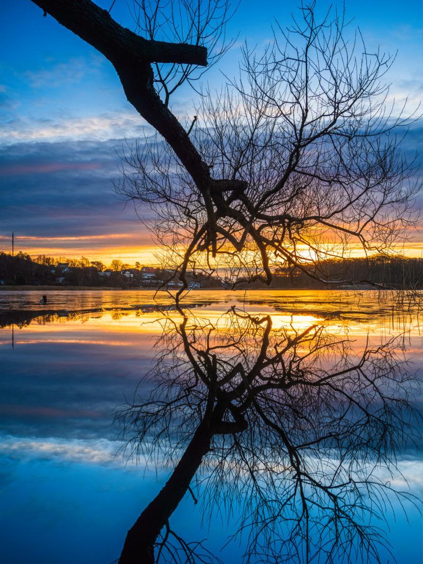 Soluppgång vid Stensjön