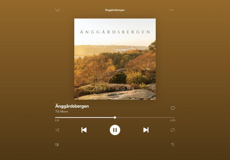 Änggårdsbergen på Spotify